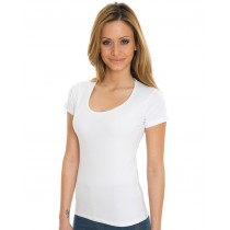 Camiseta orgánica stretch Brenda - Nakedshirt