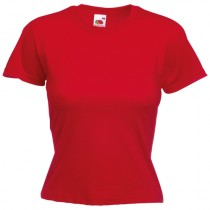 CAMISETA VALUEWEIGHT MUJER COLOR