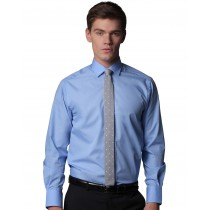 Camisa Business ajustada manga larga hombre - Kustom Kit